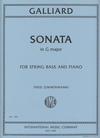 International Music Company Galliard, John Ernst: Sonata in F (bass & piano)
