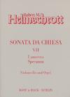 Carl Fischer Helmschrot: Son Chiesa (cello & organ)