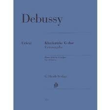 HAL LEONARD Debussy, C. (Derr, ed.): Piano Trio in G Major, urtext (violin, cello, and piano)