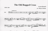 Fritchie, Wayne: The Old Rugged Cross (Cello & Piano)