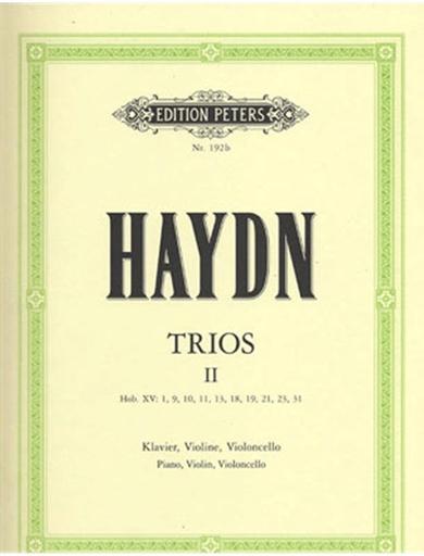 Haydn, F.J.: Piano Trios, Vol.2 Peters edition (violin, Cello, Piano)