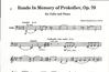 HAL LEONARD Kabalevsky: Rondo Memory of Prokofiev (cello & piano)