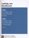 Beethoven: String Trio in Eb, Op.3 Eb (violin, Viola, Cello)
