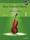 HAL LEONARD Deserno & Mohrs: Easy Concert Pieces for Violoncello and Piano 1 (cello & piano with CD)