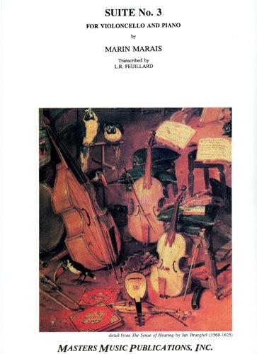 LudwigMasters Marais, M.: Suite in A (cello & piano)
