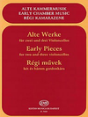 HAL LEONARD Pejtsik, A. (arr.): Early Pieces (Two and Three Cellos), Edito Musica Budapest
