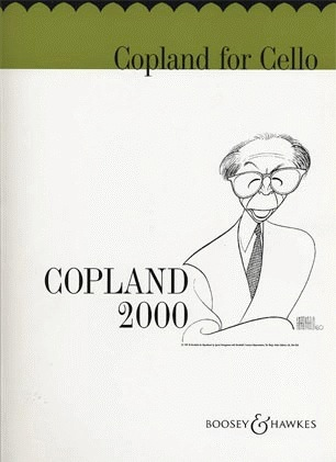HAL LEONARD Copland, A.: Copland for Cello 2000 (cello part only)