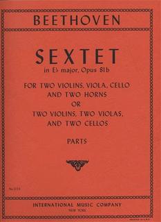 International Music Company Beethoven, L.van: Sextet Op. 81b (2 violins, 2 violas, 2 cellos)