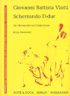 HAL LEONARD Viotti, G.B.: Scherzando in D (cello & bass)