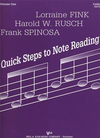 Fink, L..: Quick Steps to Note Reading Vol.1 (cello)