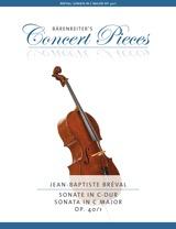Barenreiter Breval, JB: Sonata in C Major Op.40 (cello, piano) Barenreiter