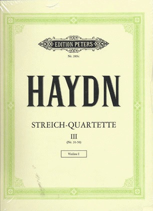 Haydn, F.J.: String Quartets, Vol.3 (edited by Andreas Moser)