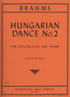 International Music Company Brahms, Johannes (Despalj) Hungarian Dance #2 (cello & piano)