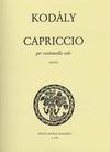 HAL LEONARD Kodaly: Capriccio (cello solo)