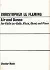LeFleming, Christopher: Air & Dance cello