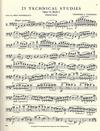 International Music Company Findeisen, T.A. (Zimmerman): 25 Technical Studies, Op.14 Volume 2 (bass)