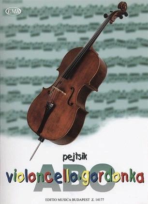 HAL LEONARD Pejtsik, Arpad: Violoncello ABC (cello & piano) (2 cellos), Edito Musica Budapest