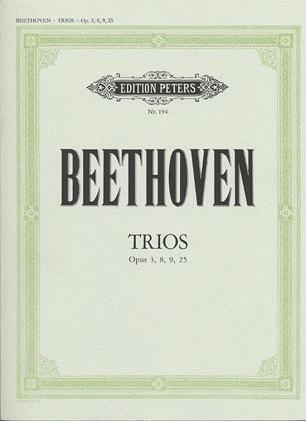 Beethoven, L.van: 6 String Trios-Complete (violin, viola, cello)