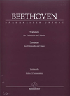 Barenreiter Beethoven (Del Mar): Sonatas for Pianoforte & Violoncello - URTEXT (cello & piano) Barenreiter