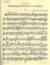 C.F. Peters Glazunov, A.K. String Quartet No. 5 in d minor, Op. 70 parts