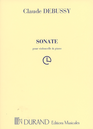 HAL LEONARD Debussy, Claude: Cello Sonata No.1 in d (cello & piano)