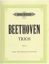Beethoven, L.van: Trio in E flat major, Op.38 (piano, clarinet or violin, cello)