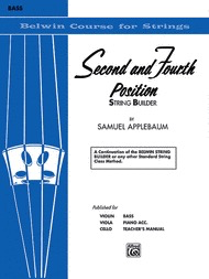 Alfred Music Applebaum, S.: Second and Fourth Position String Builder (bass)