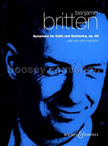 HAL LEONARD Britten, B.: Symphony, Op.68 (cello & piano)