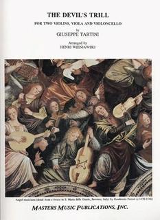 LudwigMasters Tartini, Giuseppe (Wieniawski, arr): Devil's Trill (string quartet)