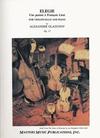 LudwigMasters Glazunov, Alexander: Elegy Une pensee a Francois Liszt (cello & piano)