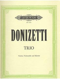 Donizetti, Gaetano: Trio in Eb (violin, cello & piano)