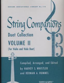 HAL LEONARD Whister, Harvey S.: String Companions Duet Collection Vol.2 (Violin & Viola)
