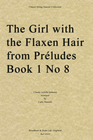 Debussy, Claude (Martelli): Girl with Flaxen Hair (String quartet)