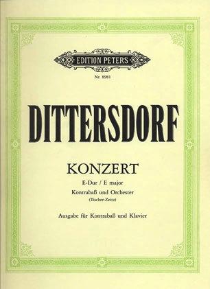 C.F. Peters Dittersdorf, K.D. (Tischer-Zeitz): Bass Concerto in E major (bass & piano)