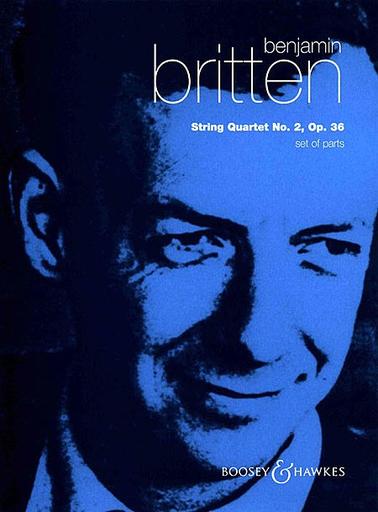 HAL LEONARD Britten, Benjamin: String Quartet no. 2, Op. 36