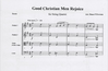 Everson, D.F.: Good Christian Men Rejoice (string quartet)