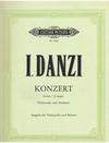 Danzi, Franz Ignaz: Cello Concerto in G (cello & piano)