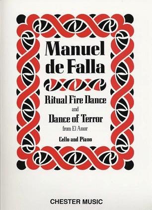 HAL LEONARD DeFalla, M: Ritual Fire Dance/Dance of Terror from Amor Brujo (cello & piano)