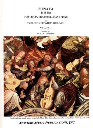 LudwigMasters Hummel, Johann Nepomuk: Sonata in Bb Op.2 No.1 (violin, cello, piano)