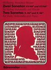 Barenreiter Mozart, W.A.: 2 Sonatas K46d, e 2 Sonatas for Violin and Cello with Piano accompaniment, Barenreiter