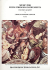 LudwigMasters Loeffler, Charles Martin: Music for Four Stringed Instruments (string quartet) parts