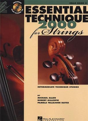 HAL LEONARD Allen, Gillespie, & Hayes: Essential Technique, Bk.3 (cello, online resources included)