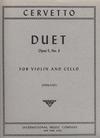 International Music Company Cervetto, James: Duet Op.5#3 (Violin & Cello)