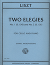 International Music Company Liszt, Franz (Morganstern): two Elegies No. 1 (S.130) and No. 2 (S.131) for cello and piano