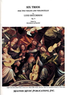 LudwigMasters Boccherini, L.: Trio Op.9 (2 violins & cello)