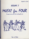 Last Resort Music Publishing Kelley, Daniel: Music for Four Vol.3 Rags & Waltzes (piano or guitar)