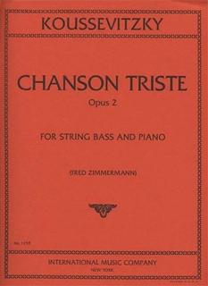 International Music Company Koussevitzky, Serge: Chanson Triste Op.2 (bass & piano)