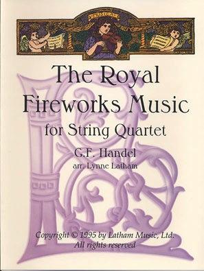 LudwigMasters Handel, F.J. (Latham): The Royal Fireworks Music (string quartet)