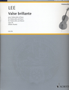 HAL LEONARD Lee, S.: (Muller-Runte, ed.) Valse Brillante, Op. 42 (cello and piano)
