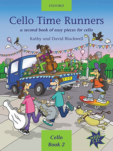 Oxford University Press Blackwell, K.: Cello Time Runners (cello, CD, piano)